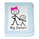 Big Sister baby blanket