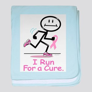 Breast Cancer Run baby blanket