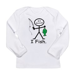 BusyBodies Fishing Long Sleeve Infant T-Shirt