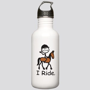 English Horse Riding Stainless Water Bottle 1.0L