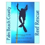 Palm Beach County Reef Rescue Poster