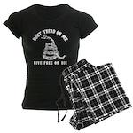 Don't Tread on Me Women's Dark Pajamas