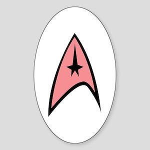 Pink Insignia Sticker (Oval 10 pk)