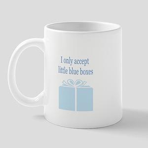 blue box Mugs