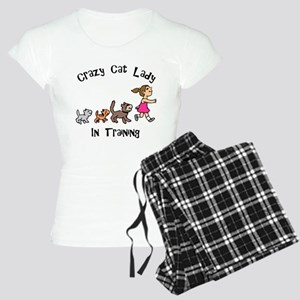 Crazy Cat Lady In Training Women's Light Pajamas