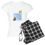 Cats vs. Dogs Women's Light Pajamas