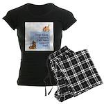 Cats vs. Dogs Women's Dark Pajamas