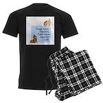 Cats vs. Dogs Men's Dark Pajamas