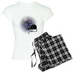 Nocturnal Black Cat II Women's Light Pajamas