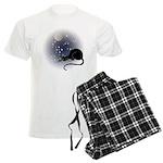 Nocturnal Black Cat II Men's Light Pajamas