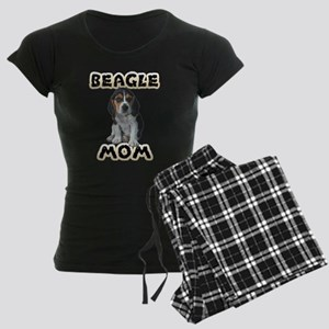 Beagle Mom Women's Dark Pajamas