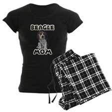 Beagle Mom Women's Dark Pajamas