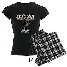 Boston Terrier Mom Women's Dark Pajamas