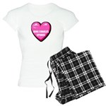 I Love My Cavalier King Charl Women's Light Pajama