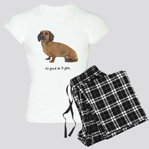 Good Dachshund Women's Light Pajamas