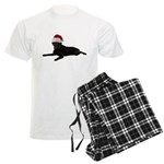 Black Lab Christmas Men's Light Pajamas