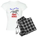 Ride With Pride Paint Horse Women's Light Pajamas