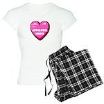 I Love My Appaloosa Horse Women's Light Pajamas