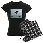 Soaring Bald Eagle Women's Dark Pajamas