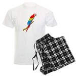 Scarlet Macaw Men's Light Pajamas