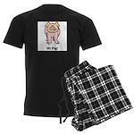Hi Pig Bye Pig Men's Dark Pajamas
