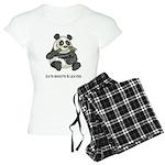 Panda Eats Shoots & Leaves Women's Light Pajamas