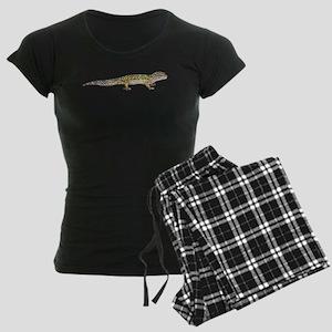 Leopard Gecko Women's Dark Pajamas