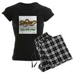 Plays With Snakes Women's Dark Pajamas