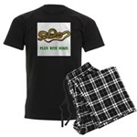 Plays With Snakes Men's Dark Pajamas