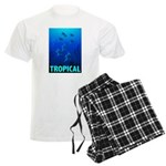 Tropical Fish Men's Light Pajamas