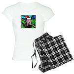 Christmas Stress Women's Light Pajamas