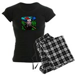 Christmas Stress Women's Dark Pajamas