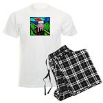 Christmas Stress Men's Light Pajamas