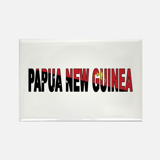 Papua Rectangle Magnet