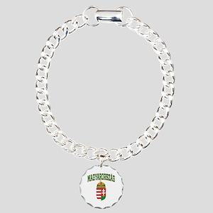 Hungary Charm Bracelet, One Charm