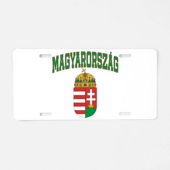 Hungary Aluminum License Plate