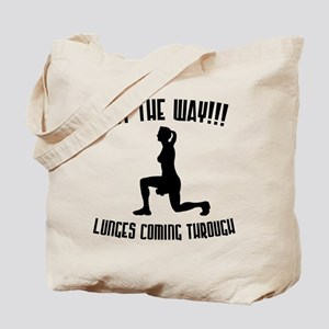 Lunges Tote Bag