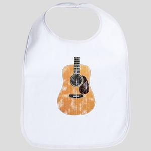 Acoustic Guitar (worn look) Bib