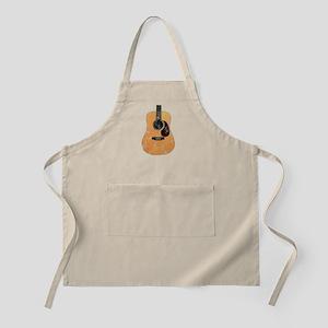 Acoustic Guitar (worn look) Apron