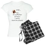 GOAT Born in Barn Women's Light Pajamas