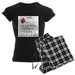 GOAT Born in Barn Women's Dark Pajamas