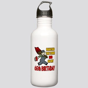 65th Birthday Stainless Water Bottle 1.0L