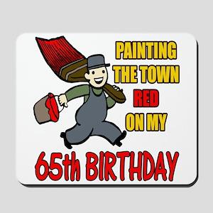 65th Birthday Mousepad
