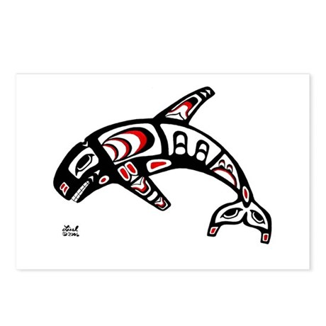 Killer Whale Postcards (Package of 8)