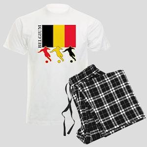 Belgium Soccer Men's Light Pajamas