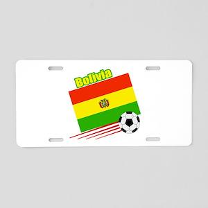 Bolivia Soccer Team Aluminum License Plate
