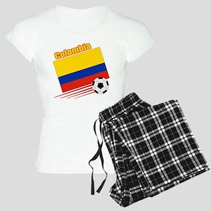 Colombia Soccer Team Women's Light Pajamas