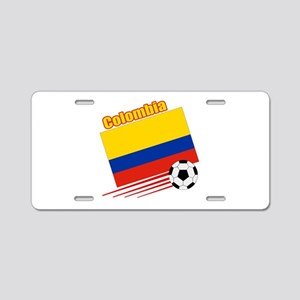 Colombia Soccer Team Aluminum License Plate