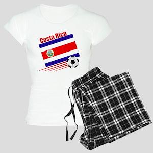Costa Rica Soccer Team Women's Light Pajamas
