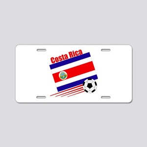 Costa Rica Soccer Team Aluminum License Plate